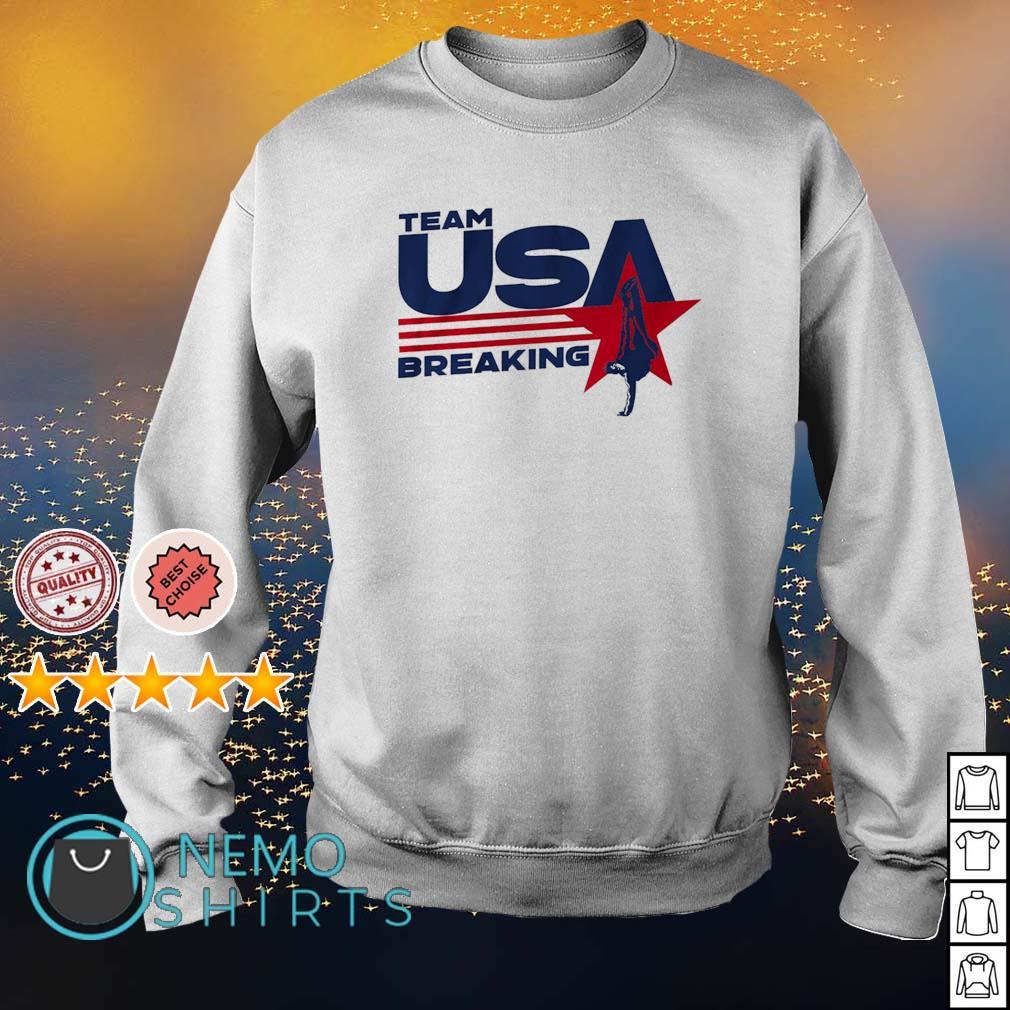 Team USA Breaking s sweater