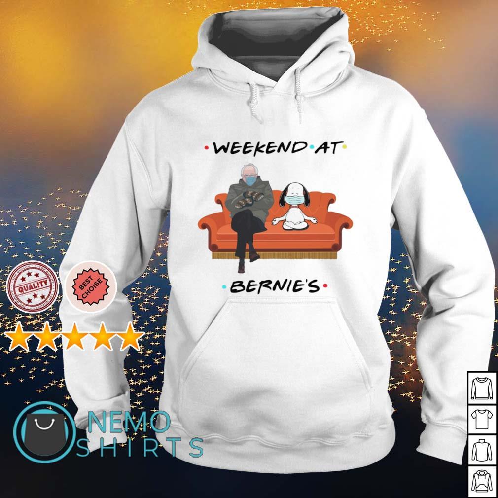 Weekend at Bernie's Snoopy s hoodie
