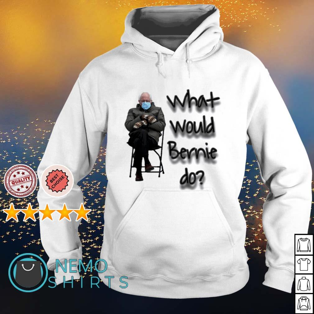What would Bernie do mittens s hoodie