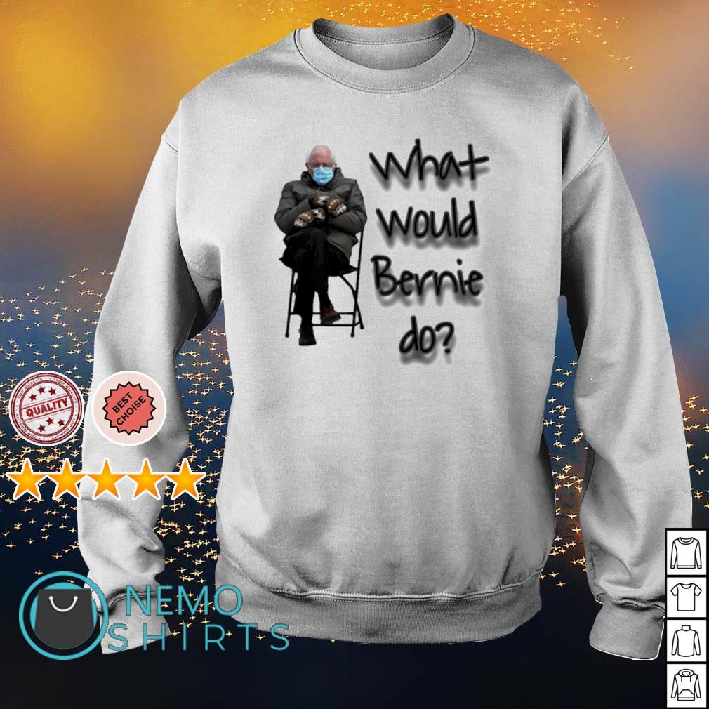 What would Bernie do mittens s sweater