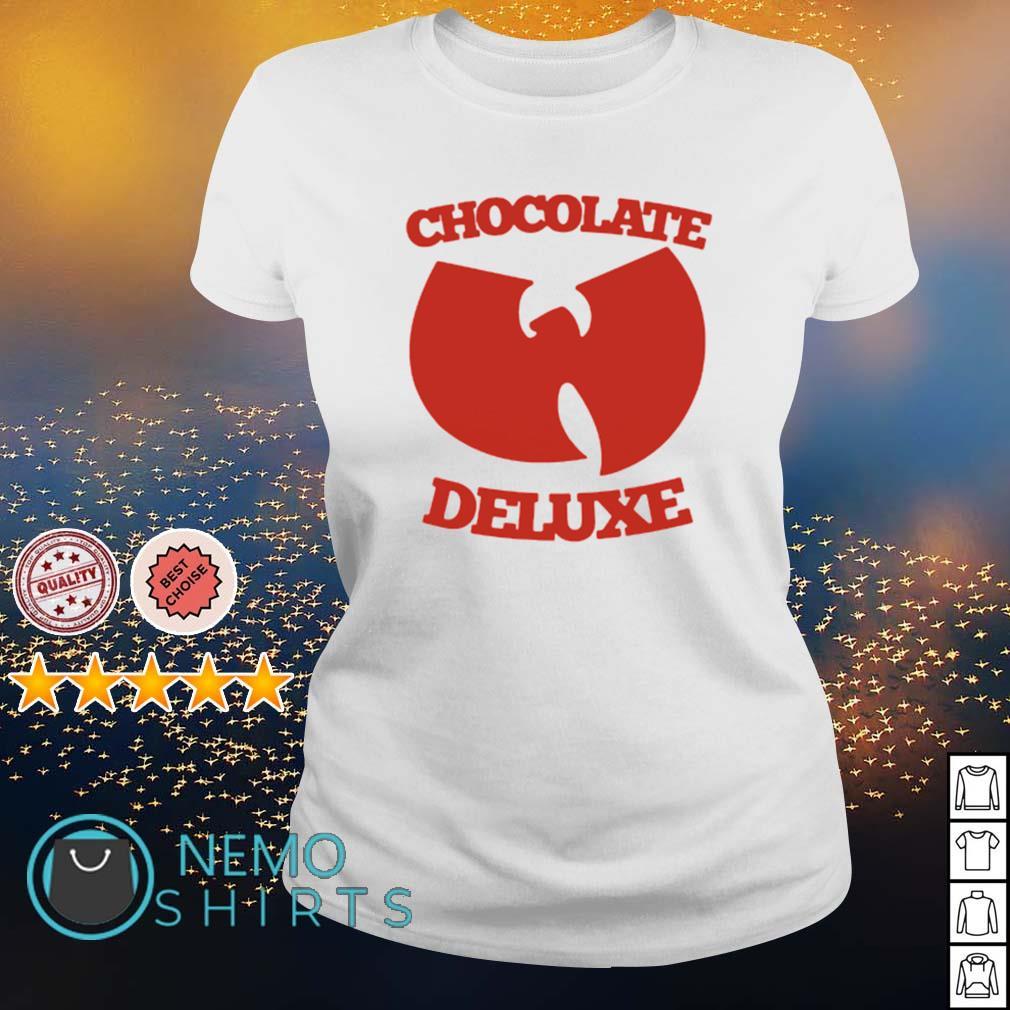 Wu-Tang clan chocolate deluxe s ladies-tee