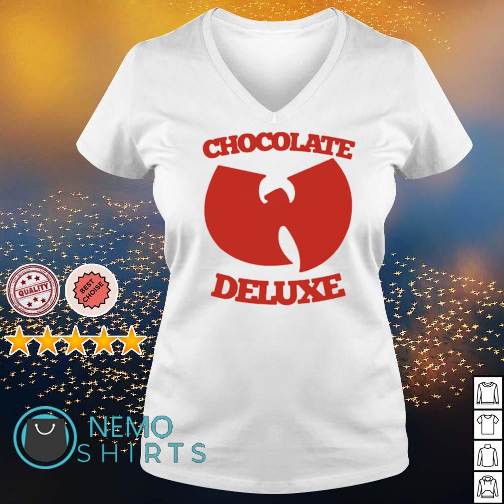 Wu-Tang clan chocolate deluxe s v-neck-t-shirt