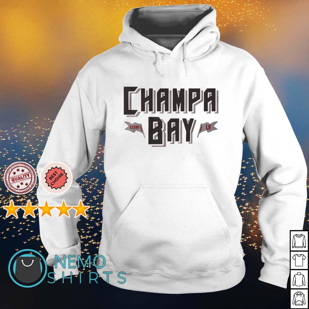 Tampa Bay champions Champa Bay LV s hoodie